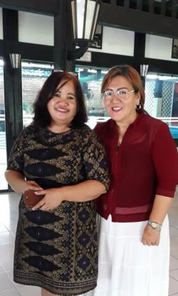 Bimbingan Fina Koamesakh dan Rosiany Hutagalung untuk Berkidung dari Hati