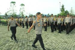 TNI, Polri dan Instansi Terkait Gelar Apel Kesiagaan Bencana di Simalungun