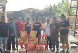 VES Community Bantu Korban Kebakaran Kampung Nelayan