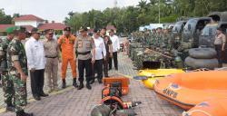 Pasukan TNI/Polri, BPBD dan Relawan Apel Siaga Bencana di Deliserdang
