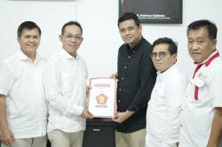 Bobby Nasution Resmi Daftar ke Gerindra untuk Pilkada Medan
