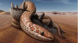 Fosil Ular Berkaki seperti Dalam Alkitab Ditemukan di Argentina