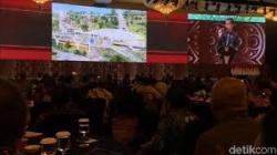 Jokowi Pamerkan Desain Ibu Kota Baru di Pertemuan Industri Jasa Keuangan