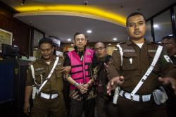 Eks Dirut Jiwasraya Hendrisman Ditahan