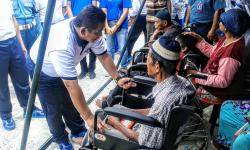 Menyambut Hari Dharma Samudera, Lantamal I Gelar Bakti Sosial di Kampung Nelayan