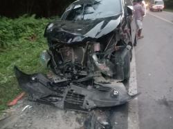 Kecelakaan Beruntun di Jalan Jamin Ginting Km 28-29 Sibolangit