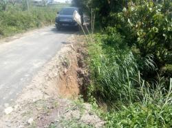 Selesai Dihotmix Desember  Tahun Lalu,Jalan di Desa Nageri Juhar Amblas