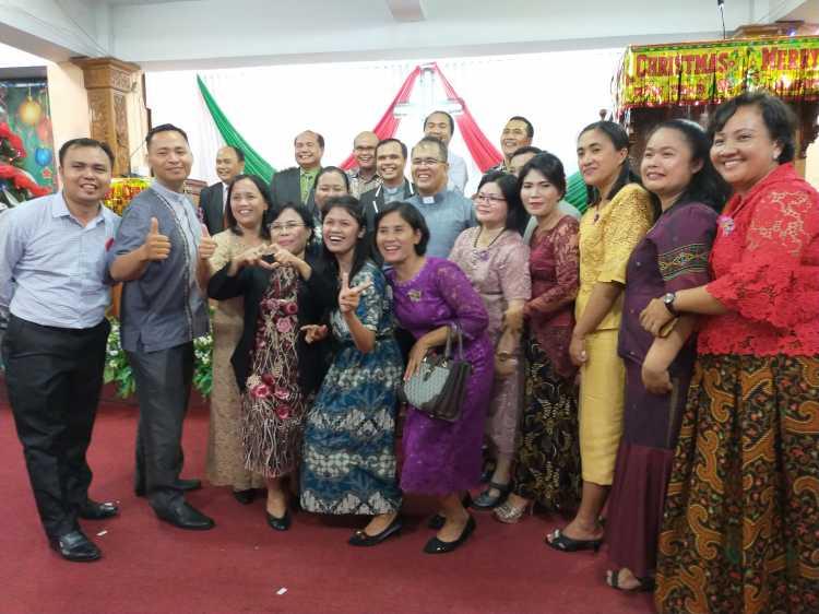 Perayaan Natal Pelayan Resort 42 dan 43 BNKP Sukses