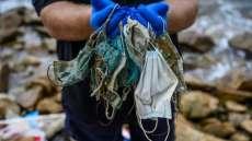 1,5 Ton Sampah Masker Bekas dari Rumah Tangga di DKI Terkumpul Selama Pandemi