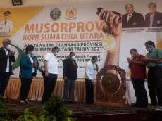 Gubernur Sumut Mohon Dukungan Seluruh Masyarakat untuk Pembangunan Sport Center