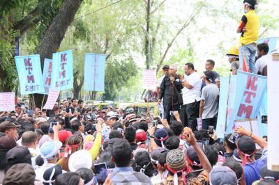 Tiga Unjuk Rasa di Medan Soroti Mafia Tanah