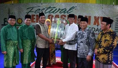 FSQ XVI Tingkat Kabupaten Sergai Ditutup, Kecamatan Tebingtinggi Terbaik