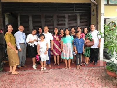 SM HKBP UAS Kunjungi Jemaat yang Sakit