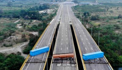 AS Kirim Bantuan, Maduro Blokir Perbatasan