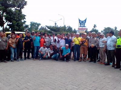 Ratusan Peserta Trojan Off Road Club Jelajahi Jalur-jalur Objek Wisata Deliserdang