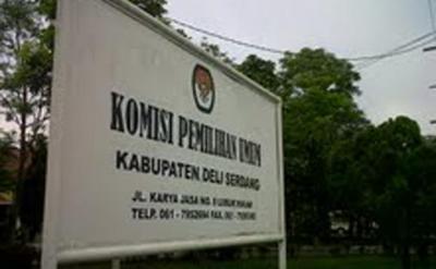 KPU Deliserdang Tunggu Instruksi Pusat Umumkan Caleg Koruptor