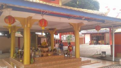 Sambut Imlek 2019, Vihara Avalokitesvara Perdagangan Penuh Hiasan Lampion
