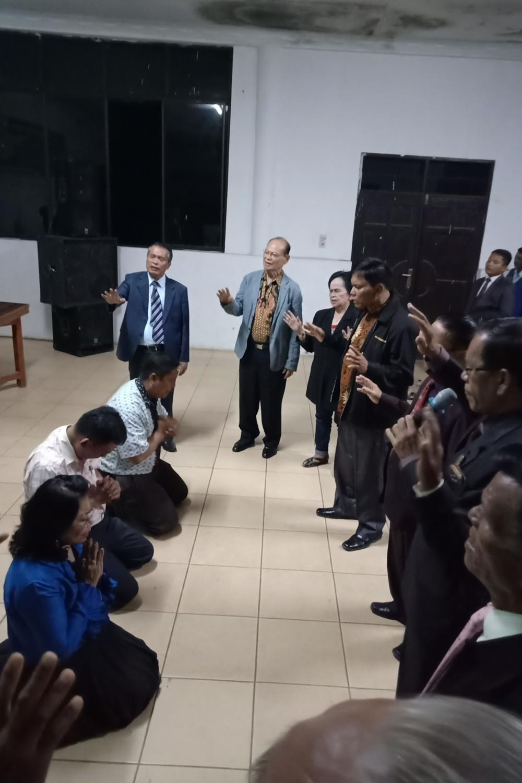 GP Berangkatkan Caleg se-Indonesia di Sidikalang dengan Doa agar Menggarami di Parlemen