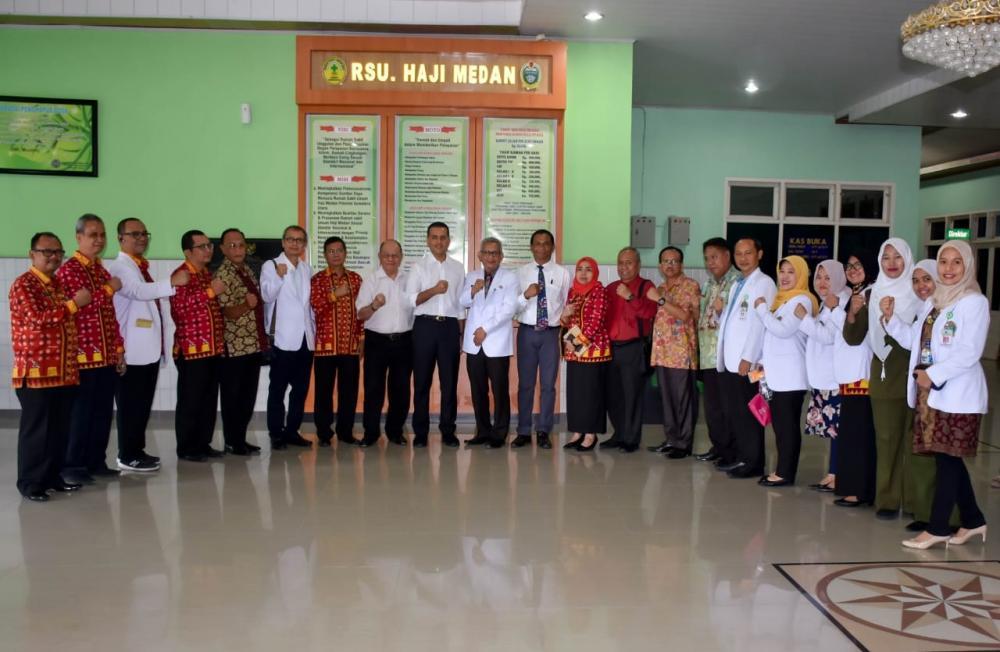 Wagubsu Tinjau Pelayanan RS Haji Medan Pastikan Meningkatnya Pelayanan