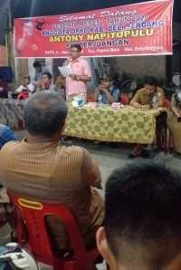Warga Kristiani Tanjung Gusta Sulit Dapat Tanah Wakaf