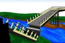 Warga Berharap Pemkab Labusel Bangun Jembatan Dusun Ujung Padang yang Runtuh