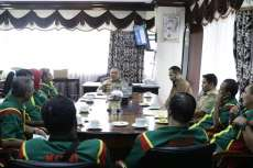 Plt Wali Kota Harap Pengurus KONI Wujudkan Medan Kota Atlet