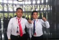 2 Mahasiswa UKI, Eliadi Hulu dan Ruben Nababan Menggugat di MK