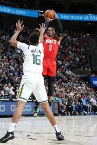 Harden dan Westbrook Cetak 72 Poin, Rockets Bungkam Jazz