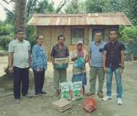 Gerppasi Beri Bantuan Warga Kurang Mampu di Gunung Malela