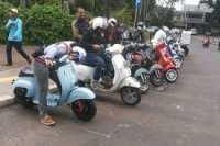 Komunitas Vespa Indonesia Diakui Sampai ke Mancanegara