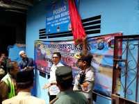 Posko Tobat dan Berobat Diresmikan di eks Kampung Kubur Medan
