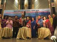 Kapolda Irjen Pol Martuani Sormin Hadiri Bona Taon 2020 Bersama Perantau dari Lumban Sormin di Medan