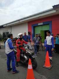 Lanjutkan Komitmen Cari_Aman, Honda Dukung Pertamina Edukasi Karyawan