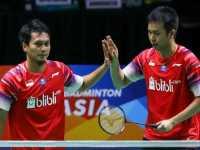 Kejuaraan Beregu Asia 2020:Marcus/Kevin Bawa Indonesia ke Final Bertemu Malaysia