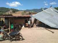 Rumah Rusak Diterjang Angin, Gudang Pemipil Jagung Terbakar di Karo