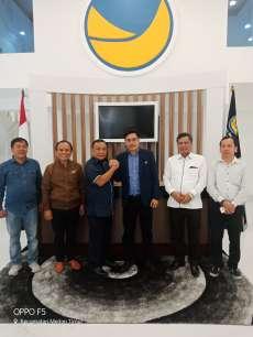 Partai Nasdem Mengerucut Dukung Baginda Lumban Gaol/Rajin Sihombing