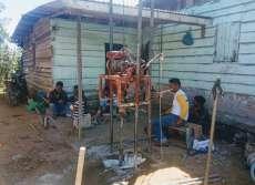 Franc Bernhard Tumanggor Bantu Keluarga Ual Sagala yang Empat Anaknya Lumpuh