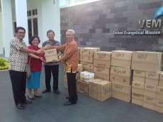 Gereja Anggota UEM Kirim Bantuan Masker ke Hong Kong
