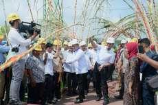 Wagub Sumut Resmikan  dan Giling Perdana Pabrik Gula Sei Semayang