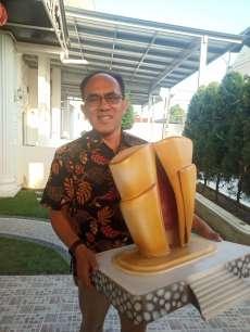 Pahatan Capt Tagor Aruan untuk Lestarikan Warisan Leluhur