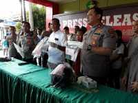 Polisi Tembak Mati Bos Pelaku Begal Sadis di Medan