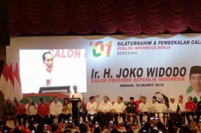 Jokowi: Lawan Fitnah dan Hoax yang Bisa Menggerus Elektabilitas Capres-Caleg