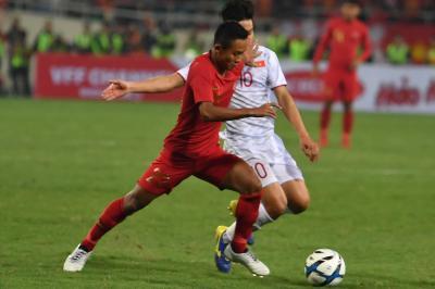 Vietnam Hentikan Langkah Indonesia ke Piala Asia