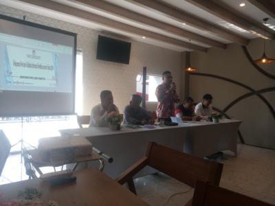 KPU Tanjungbalai Gelar Pelayanan Pers Publikasi Kinerja Jelang Pemilu 2019