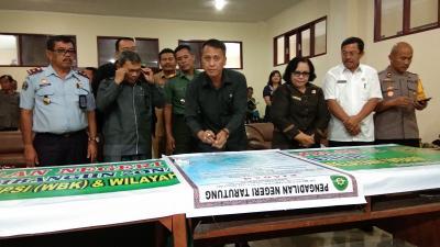 PN Tarutung, Pemkab Taput dan Humbahas Deklarasikan Pencanangan Pembangunan Zona Integritas