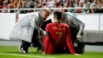 Ronaldo Cedera, Portugal Diimbangi Serbia