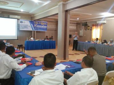 Imigrasi TBA Adakan Sosialisasi dan Pengukuhan Timpora se-Kabupaten Asahan