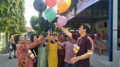 Hadiri Pensi SMP GKPI Padangbulan Proklamasi K Naibaho Minta Siswa Jauhi Narkoba