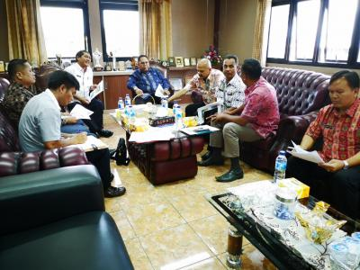 Bupati Karo dan Anggota Komisi D DPRD Provsu Satukan Persepsi