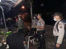 Antisipasi Covid-19, Polres Taput dan Kodim 0210 /TU Patroli ke Tempat Keramaian